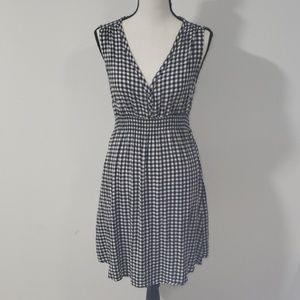 H&M MAMA Shepard's check tunic shirt/dress